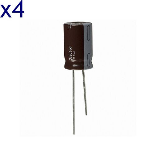//dispo within 7 days Radial capacitor 400v 27µf 105 ° chemi-con pack of 4