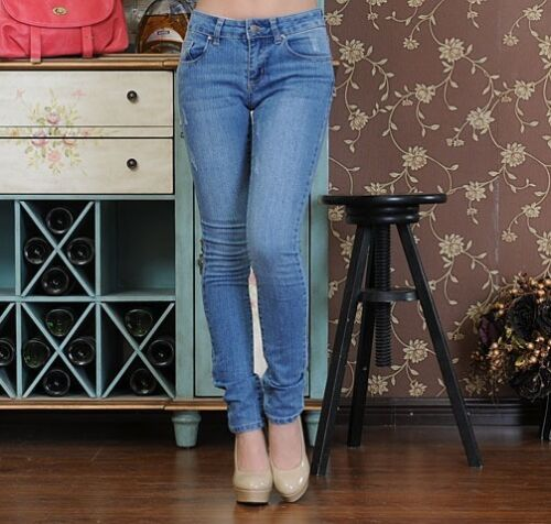skinny slim Jeans ajust fit super taille vY5wwnHq6