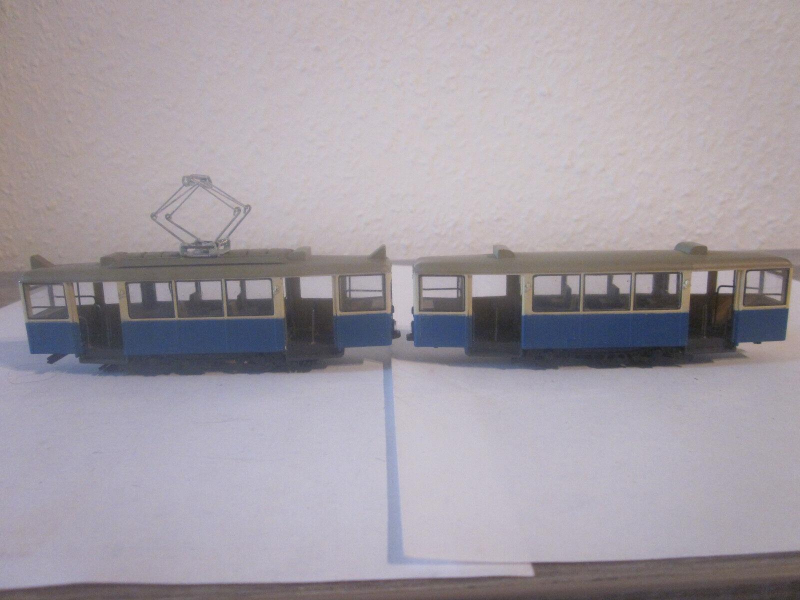 2 pezzi tram per hobbisti