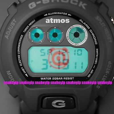 Authentic!!Casio G-Shock x Atmos x Bearbrick DW-6900 Japan Limited Edition MIB