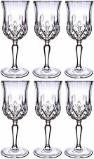 RCR OPERA CRYSTAL GLASS - WINE GLASSES 23cl (BOX OF 6) - NEW
