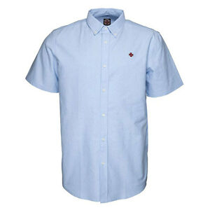 Camicia-Manche-Corte-Independent-Council-Shirt-Blue