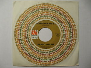 Details about ABACO DREAM: LIFE AND DEATH IN G & A / CAT WOMAN ~SOUL FUNK  PSYCH 45 MOOG EX+/M-
