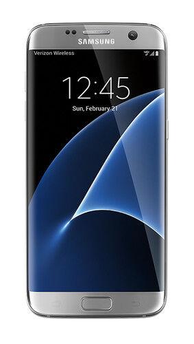 Samsung Galaxy S7 Edge Sm G935v 32gb Silver Titanium Verizon For Sale Online Ebay
