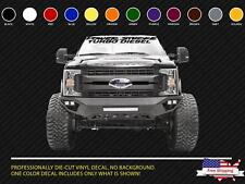 NEW OFFROAD 4x4 DECAL STICKER POWERSTROKE DIESEL MAGNUM EXCURSION EXPEDITION 671