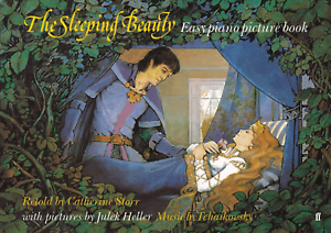 THE-SLEEPING-BEAUTY-EASY-PIANO-PICTURE-BOOK-Songbook-Sheet-Music-Shop-Soiled
