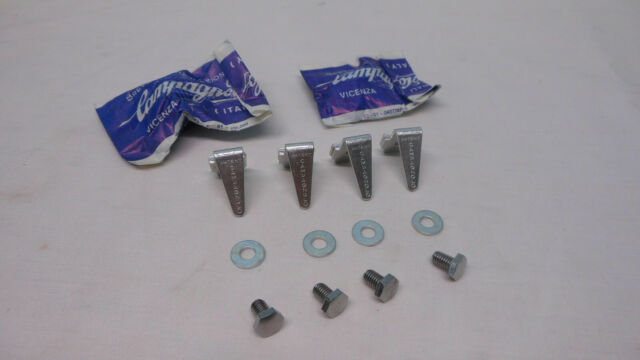 NOS LEONE Cycling Shoe Cleats Pavarin type for Campagnolo-type toe clip pedals