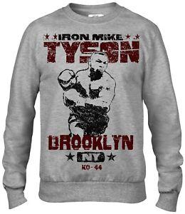 47aa534ba992c6 Boxing Iron Mike Tyson training sport men`s crew neck sweatshirt
