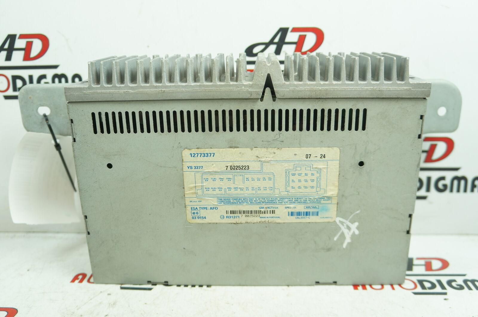 benvenuto a comprare SAAB 9-3 ESTATE (YS3F) Amplificatore audio audio audio 12773377  fabbrica diretta