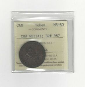 Wellington-Token-Breton-987-CH-WE11A1-ICCS-Graded-MS-60