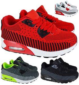 Ninos-Chicos-Chicas-Deporte-Correr-Ninos-con-Cordones-Escuela-Zapatillas-Zapatos-de-Skate-Talla