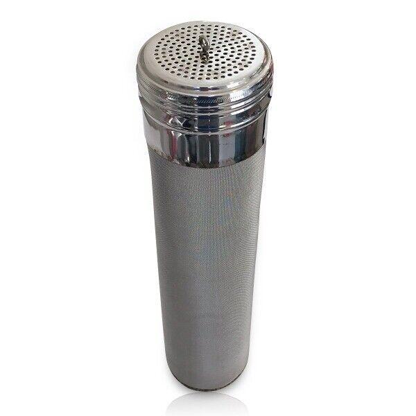"""Stainless Steel Keg Dry-Hopping Hop Tube - 300 Micron Mesh - 2.75"""" x 11.5"""""""