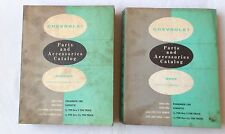 1933 - 1961 CHEVROLET CAR AND TRUCK BODY AND CHASSIS PARTS CATALOG BOOK SET  ALL