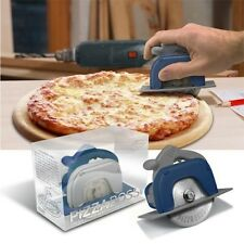 Fred Pizza cutter Boss 3000 Circular Saw Construction Tool Fun Gift Fred blue