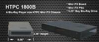 Brand new nMedia HTPC 1800B Black Mini- iTX ATX Desktop HTPC Case