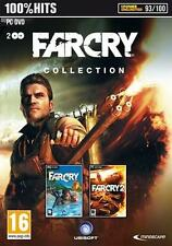 Far Cry 1 and 2 Collection PC Brand New Factory Sealed