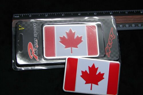 CANADA FLAG METAL 3D EMBLEM DECAL STICKER LOGO FOR CARS  Maple Leaf  l/'Unifolié