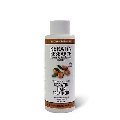 Brazilian complex hair Keratin Blowout Treatment 120ml with Moroccan Argan oil