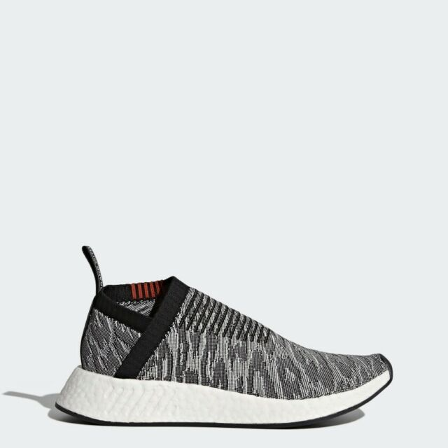 finest selection 430a4 5845f adidas NMD Cs2 PK 8-13 Core Black Grey Red White Bz0515. Primeknit City  Sock 2 9