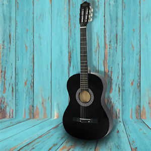 Acoustic-Guitar-38-034-Full-Size-Adult-Black-Includes-Guitar-Pick-amp-Accessories