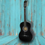 Acoustic-Guitar-38-034-Full-Size-Adult-Black-Includes-Guitar-Pick-amp-Accessories thumbnail 1