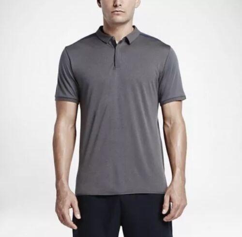 Nikelab NikeCourt x Roger Federer Polo Grey Men/'s Sz Small 843849 063