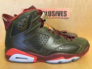 low priced d62ac 2b443 Image is loading Nike-Air-Jordan-VI-Retro-6-Cigar-Raw-