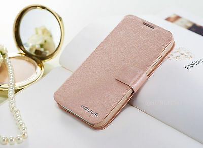 Luxury Slim Card Wallet Leather Stand Flip case cover for Samsung Galaxy Phone