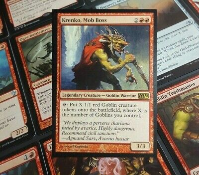 MTG Commander EDH Deck Krenko, Mob Boss 100 Cards Goblin