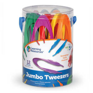 Learning Resources Easy Grip Tweezers