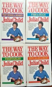 Julia-Child-The-Way-to-Cook-VHS-Fish-Egg-Vegetable-Soup-Salad-Bread-1st-Course
