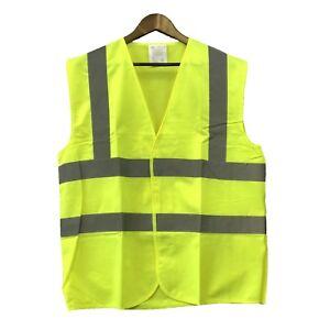 Warnschutz-Warnweste-Supervisor-Hochsichtbar-Sichtbarkeit-Sicherheitsweste-Gelb