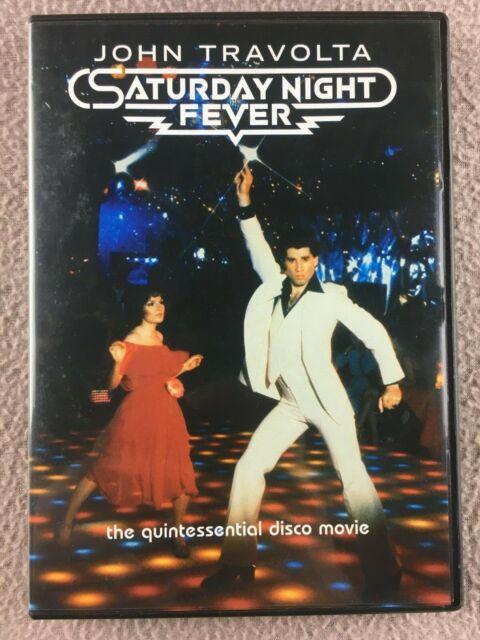 Jhon Travolta Saturday Night Fever - DVD - REGION 3