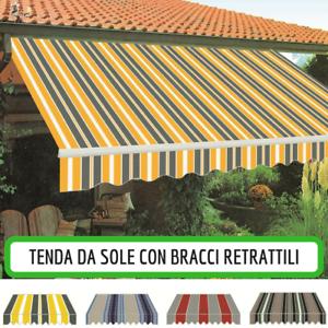 Tende Da Sole Con Bracci.Tenda Da Sole Parasole Tende 300x250 Con Bracci Retrattili