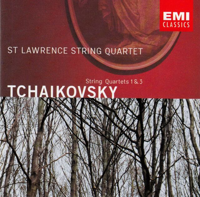 TCHAIKOVSKY : STRING QUARTETS 1 & 3 - ST LAWRENCE STRING QUARTET / CD
