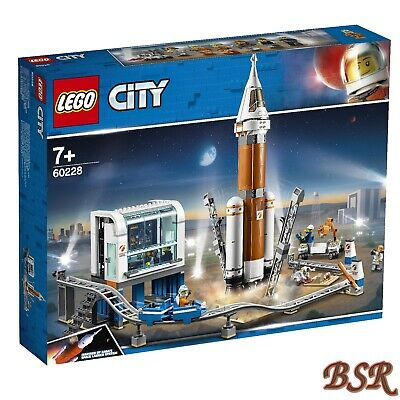 60228 Weltraumrakete mit Kontrollzentrum /& 0.-€ Versand /& NEU /& OVP LEGO® City