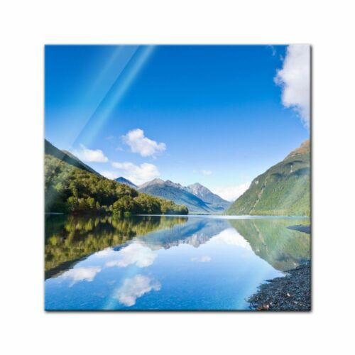 Lake Gunn Glasbild Neuseeland