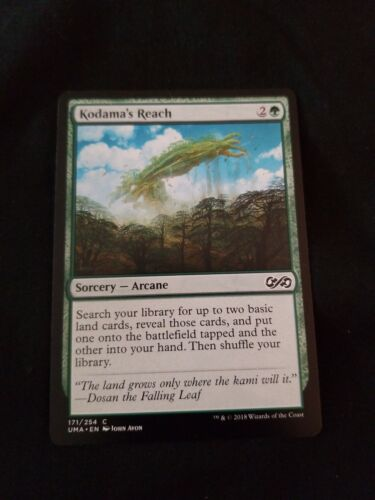 Mtg Kodama/'a Reach NM condition Pack Fresh Card Ultimate Masters