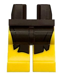 LEGO Minifigure Parts & Accessories Toys & Hobbies LEGO NEW YELLOW MINIFIGURE LEGS PANTS WITH DARK BROWN LOIN CLOTH PATTERN PIECE