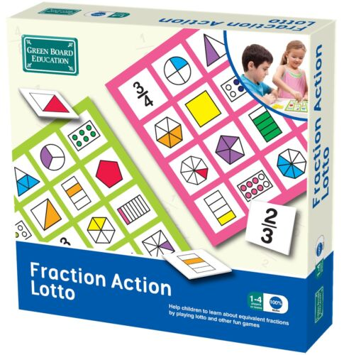 Green Board Game Co. Fraction Action Lotto