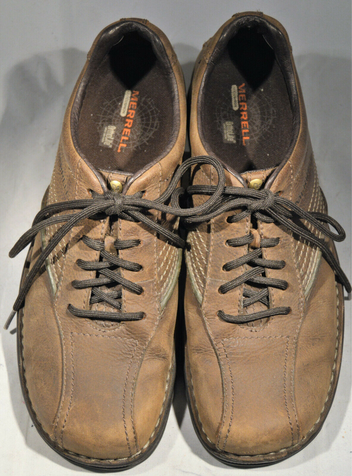 Men's shoes, Merrill, Oxford, Brown, Size12
