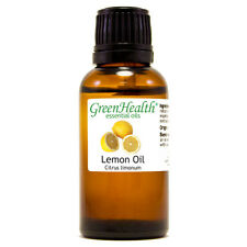 1 fl oz Lemon Essential Oil (100% Pure & Natural) - GreenHealth
