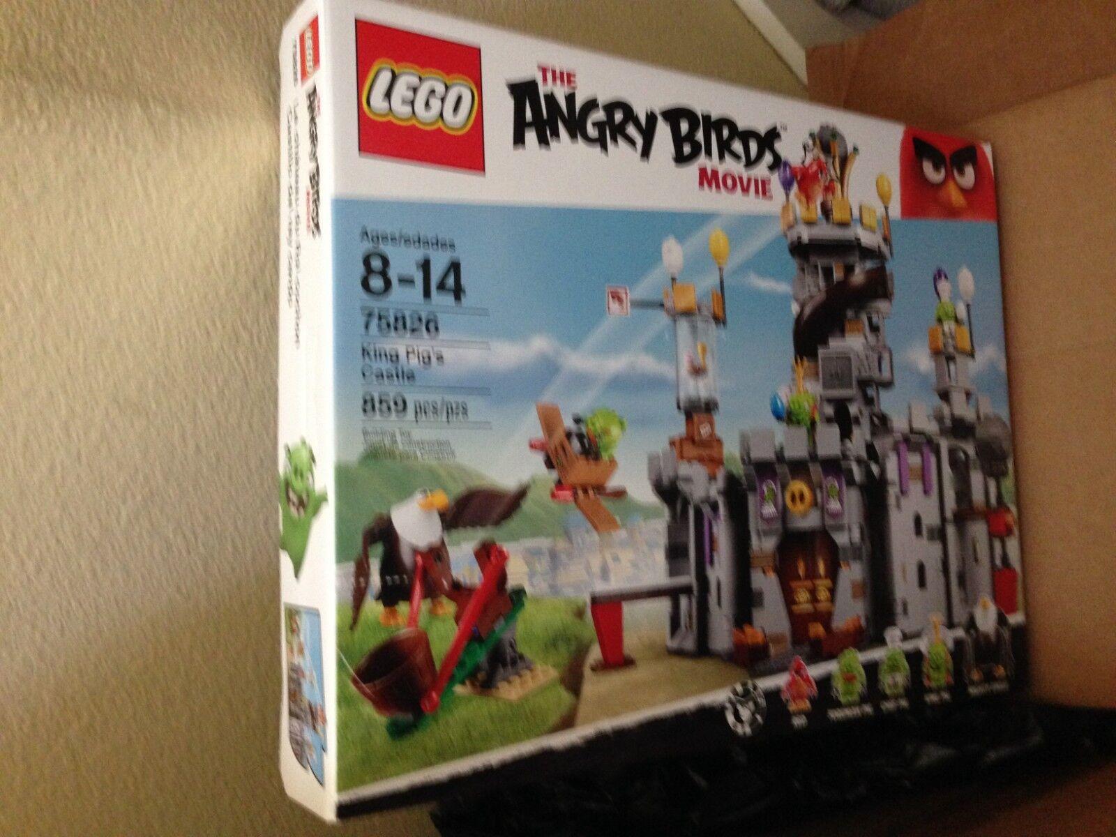 negozio di moda in vendita LEGO Angry Angry Angry Birds 75826 re Pig's Castle costruzione Kit (859 Pieces)  grandi risparmi