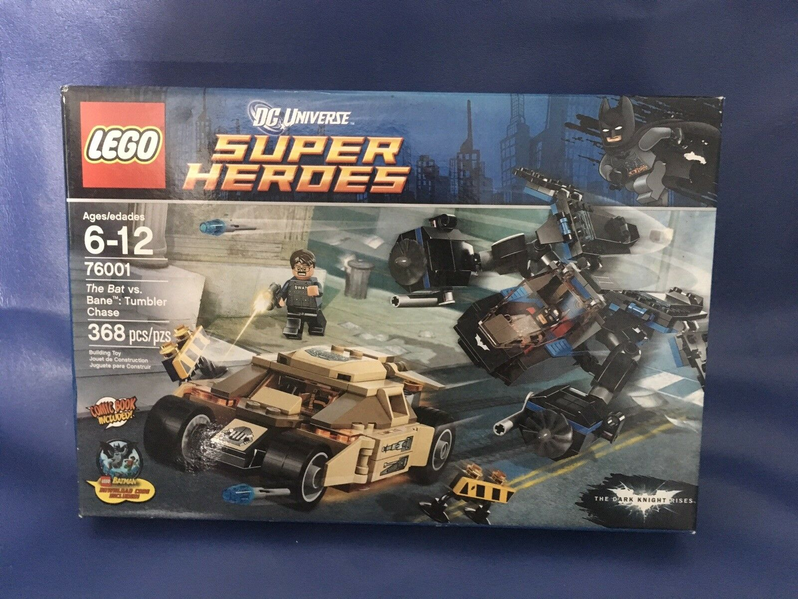 LEGO  DC Universe Super Heroes - The Bat vs. vs. vs. Bane  Tumbler Chase (76001) RETIRED dfc93a