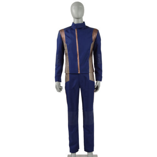 2018 New Star Trek Discovery Operations Division Officer Uniform Cosplay