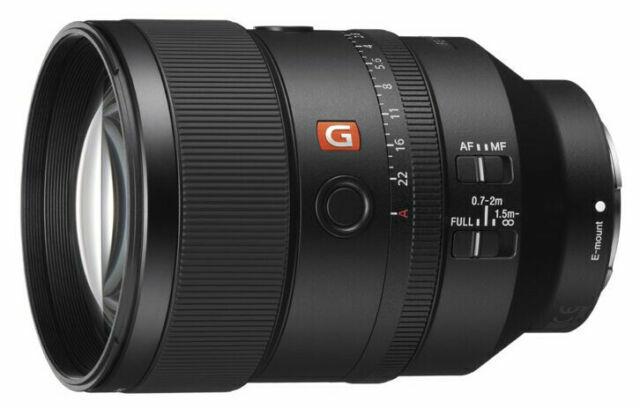 Sony FE 135mm F1.8 GM G Master Full-frame E-mount Telephoto Prime Lens SEL135F18GM
