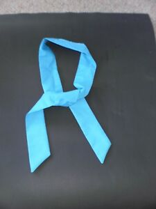 3-X-034-BLUE-034-Neck-Coolers-Scarves-Cold-Therapy-Bandana-Wrap-SIZE-4-5cm-x-100cm