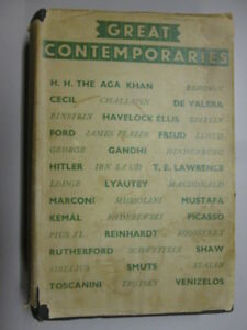 Acceptable  GREAT CONTEMPORARIES  No Author 19350101 Pages tanned Previou - Ammanford, United Kingdom - Acceptable  GREAT CONTEMPORARIES  No Author 19350101 Pages tanned Previou - Ammanford, United Kingdom