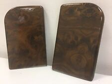 Range rover p38 ARM REST COVERS WALNUT