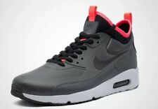 Nike Air Max 90 Mid Winter Print Anthracite Red Size 9.5